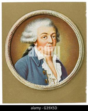 HONORE GABRIEL RIQUETI COMTE de MIRABEAU  French statesman       Date: 1749 - 1791 - Stock Photo