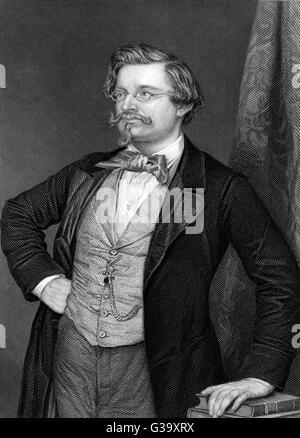 August Wilhelm von HOFMANN  German chemist associated with  the Government School of Mines       Date: 1818 - 1892 - Stock Photo