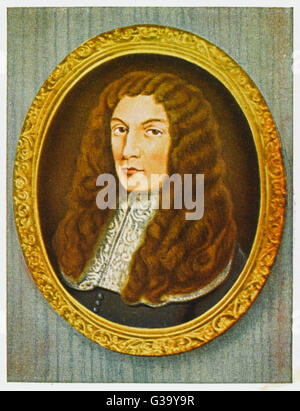 ANTHONY ASHLEY COOPER 1st EARL of SHAFTESBURY  English politician       Date: 1621 - 1683 - Stock Photo