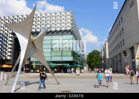 Prager Strasse pedestrian area with mall Centrum Galerie, Germany, Sachsen, Saxony, , Dresden