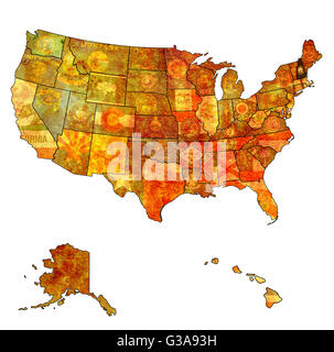 New Hampshire State Political Map Stock Photo Royalty Free Image - Usa map new hampshire