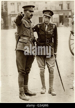 Edward, Prince of Wales, later King Edward VIII, then Duke of Windsor (1894 - 1972).  Directly after World War One - Stock Photo