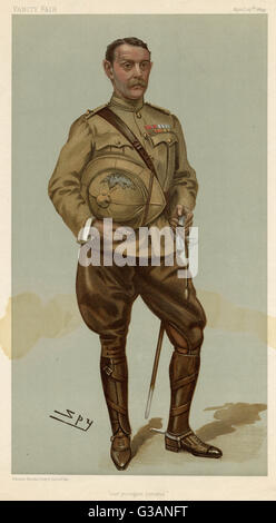 General Sir Archibald Hunter (1856 - 1936), General in the British Army who distinguished himself during the Boer - Stock Photo