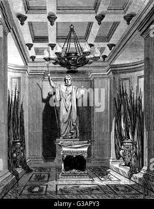 Paris, France - Invalides, Tombeau de Napoleon II, son of Napoleon Bonaparte.     Date: circa 1855 - Stock Photo