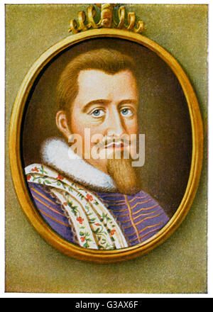 CHRISTIAN IV  King of Denmark and Norway (1588-1648)       Date: 1577 - 1648 - Stock Photo