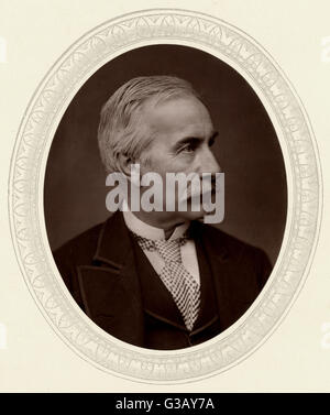 SIR HENRY BARTLE FRERE  statesman and administrator,  active in Indian and African  affairs : photo 1876      Date: - Stock Photo
