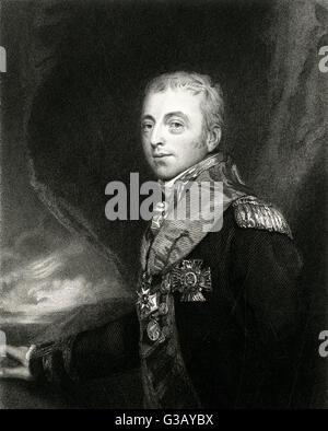 ALAN, BARON GARDNER  naval commander        Date: 1742 - 1809 - Stock Photo