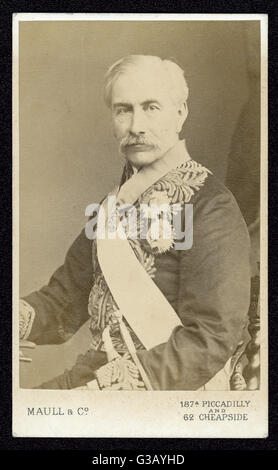 SIR HENRY BARTLE FRERE  British colonial  administrator in India and Africa      Date: 1815 - 1884 - Stock Photo