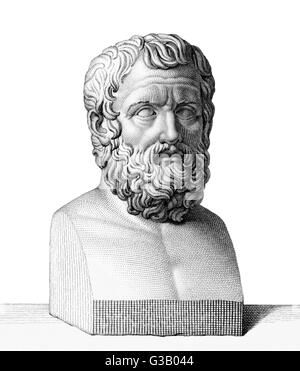 PITTACUS  Greek sage, ruler of Mytilene        Date: 650 - 570 BC - Stock Photo