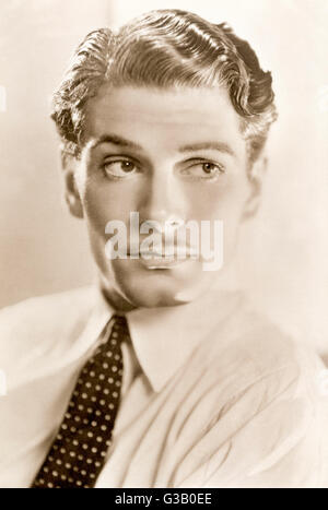 (Sir) LAURENCE OLIVIER  British actor of stage and screen       Date: 1907 - 1989 - Stock Photo