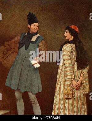 relationship between portia and nerissa in the merchant of venice
