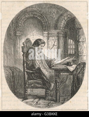 Sir JOHN ELIOT Statesman and Parliamentarian,  imprisoned in the Tower of  London for opposing King  Charles I  - Stock Photo