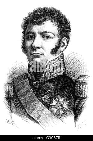DOMINIQUE JOSEPH RENE  VANDAMME, comte d'Unebourg -  French military commander.        Date: 1770 - 1830 - Stock Photo