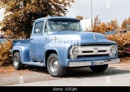 1960 ford f 100 pickup truck stock photo royalty free. Black Bedroom Furniture Sets. Home Design Ideas