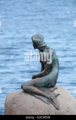 The little mermaid, Copenhagen - Stock Photo