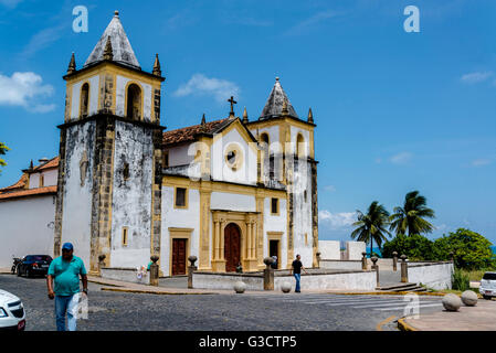 Catedral Alto da Sé, Olinda, Pernambuco, Brazil - Stock Photo