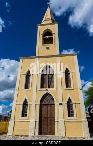 Church Nossa Senhora da Conceição, Bezerros, Pernambuco, Brazil - Stock Photo