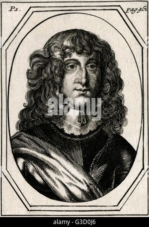 Prince Rupert of the Rhine (1619-1682) - Royalist Commander, a German soldier, admiral, scientist, sportsman and - Stock Photo