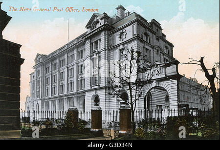 The New General Post Office, London     Date: circa 1910s - Stock Photo