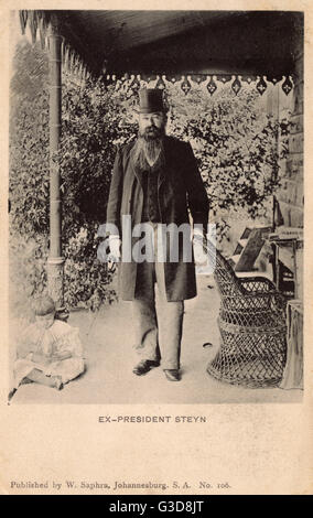 Marthinus Theunis Steyn (1857-1916), President of the Orange Free State, South Africa, from 1896 until 1902. The - Stock Photo