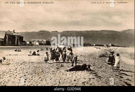 Somerset Strand, Somerset West, Western Cape, Cape Colony, South Africa.      Date: circa 1908 - Stock Photo