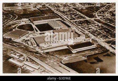 Factory building 1950s stock photo 86491514 alamy for General motors stock history