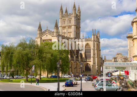 The Abbey Church of Saint Peter and Saint Paul, Bath, Somerset - Stock Photo