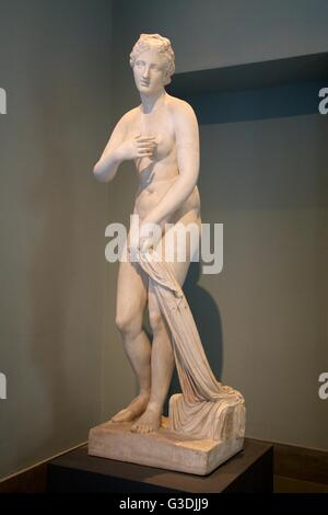 Aphrodite of Menophantos, Palazzo Massimo alle Terme, National Museum of Rome, Italy - Stock Photo