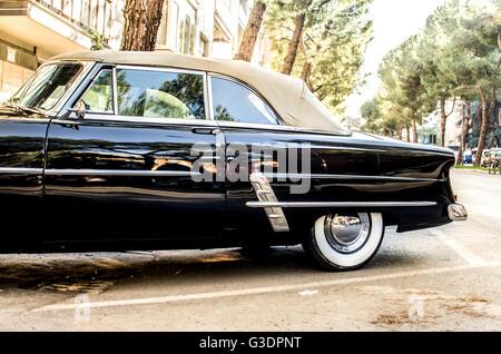 convertible vintage car - Stock Photo
