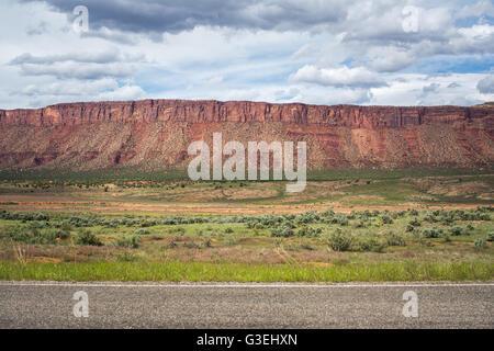 Paradox Valley, Colorado, USA - Stock Photo