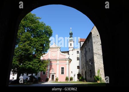 Castle : Castle Chapel, Germany, Bayern, Bavaria, Oberbayern, Rupertiwinkel, Upper Bavaria, Tittmoning - Stock Photo