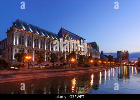 Palace of Justice, Romania Bucharest Bucuresti - Stock Photo
