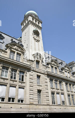 La Sorbonne, Rue Saint-Jacques, Paris, France Main building Paris Sorbonne University, - Stock Photo