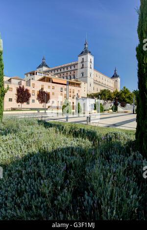 Alcazar, Toledo, province Toledo, Castile-La Mancha, Spain, Europe - Stock Photo