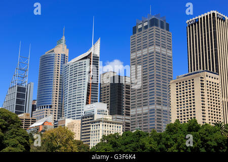 Royal Botanic Garden, Sydney, New South Wales, Australia - Stock Photo