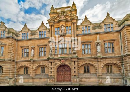 Rhodes Building High Street Oxford UK - Stock Photo