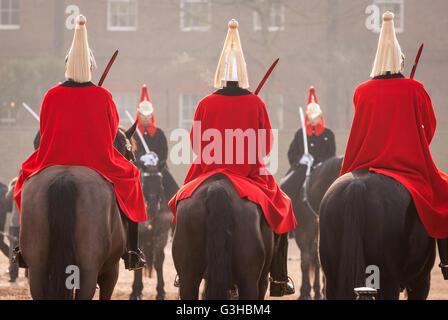 London guards - Stock Photo