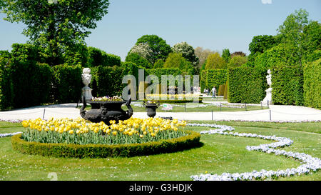 Garden in a imperial palace - Stock Photo
