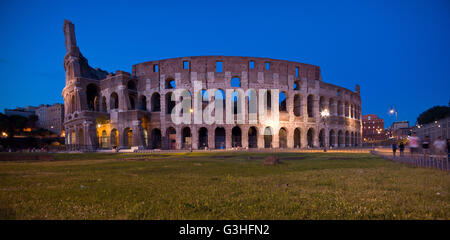 The Colosseum Rome Italy - Stock Photo