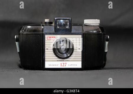 Kodak Brownie 127 Camera - Stock Photo