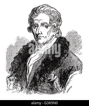 Daniel Boone, 1734 - 1820 - Stock Photo