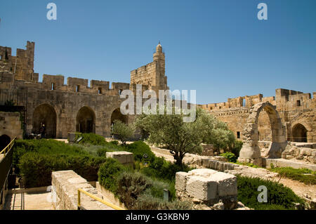 David Fortress and Museum, Jerusalem - Stock Photo