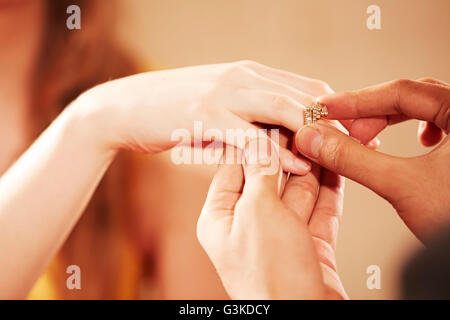 2 Foreigner Married Couples Part-of Acceptance Engagement Ring
