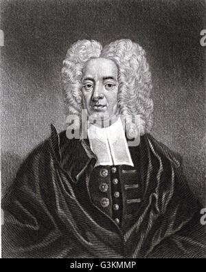Cotton Mather, 1663 - 1728 - Stock Photo