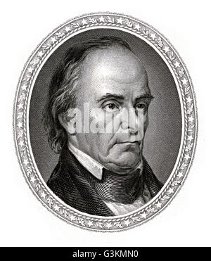 Daniel Webster, 1782 - 1852 - Stock Photo