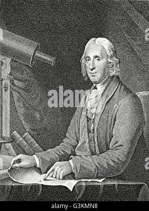 David Rittenhouse, 1732 - 1796 - Stock Photo