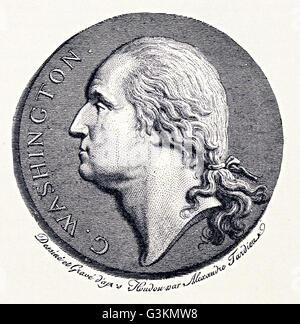 George Washington, 1732 - 1799 - Stock Photo