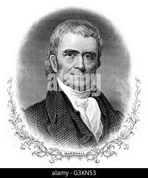 John Marshall, 1755 - 6183 - Stock Photo