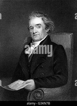 Noah Webster, 1758 - 1843 - Stock Photo
