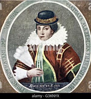 Pocahontas, 1595 - 1617
